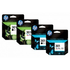 HP 301 Ink Cartridge Combo 2-Pack N9J72AE (Eredeti)